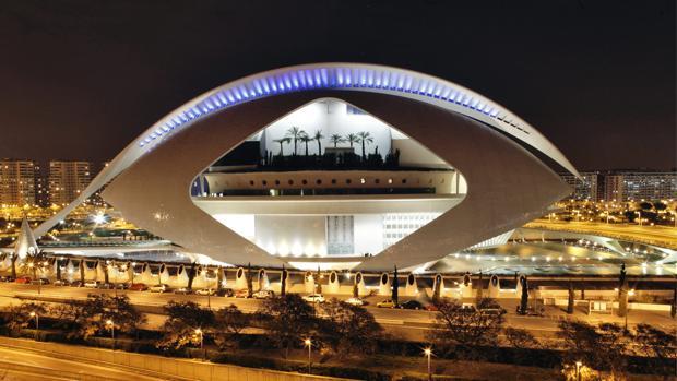 Imagen del Palau de les Arts Reina Sofía de Valencia