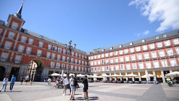Plaza Mayor de Madrid, este verano