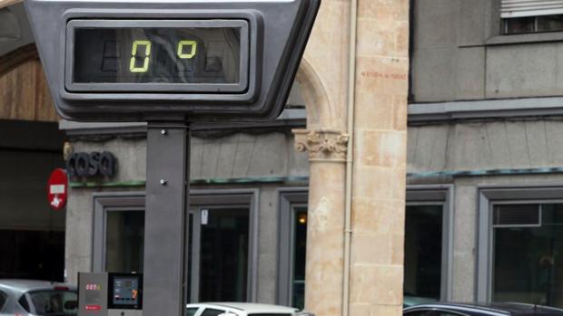 Castilla y León ha registrado nueve de las diez temperaturas más bajas de España este sábado
