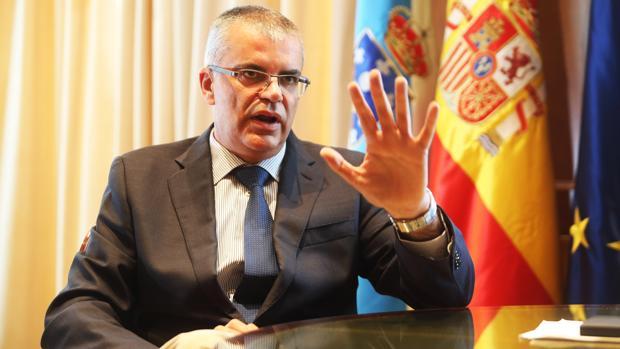 El delegado del Gobierno, Santiago Villanueva