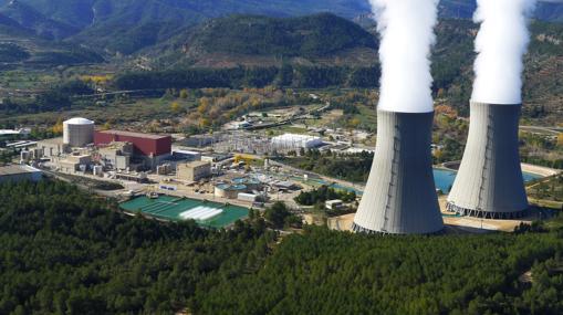 Instalaciones de la central, vistas desde el exterior