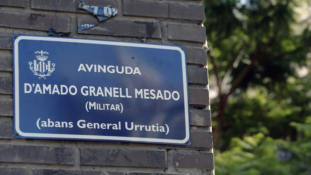 Imagen de la nueva señalización en General Urrutia