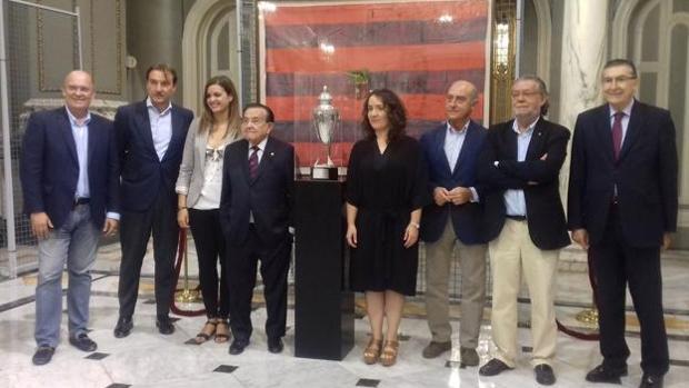 Imatge del acte celebrat a l'Ajuntament de València