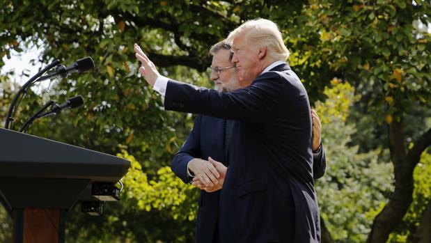 Trump no ha dudado en expresar su admiración por varios deportistas españoles y agasajar a su invitado
