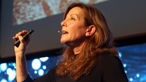 La editora neoyorquina afincada en Barcelona Valerie Miles