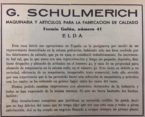 Documento publicidad ABC 1936