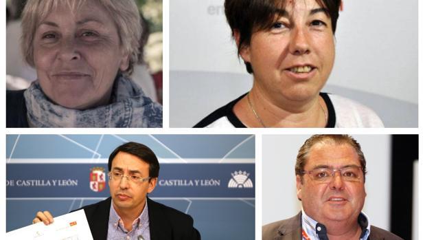 Alegría Alonso, Carmen García, Fernando Pablos y Fernando Vegas han presentado su candidatura para las primaras del PSOE de Salamanca