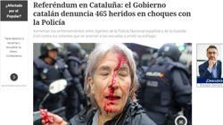 Noticia del diario «Clarín»