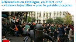 «Le Monde», en su edición de internet