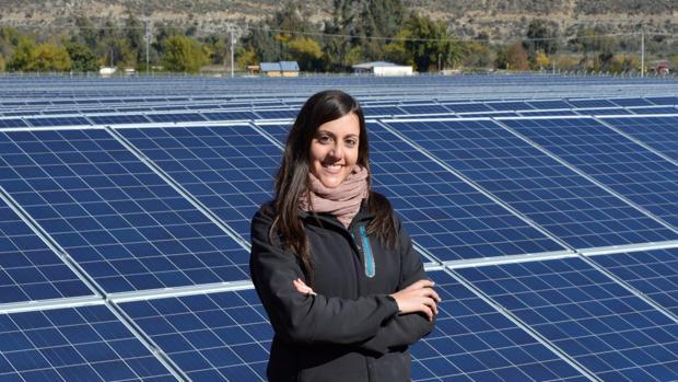 Sara Barriuso es una joven burgalesa que ha regresado a su tierras tras emigrar a Chile