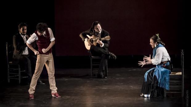 Actuación del bailaor madrileño Jesús Carmona