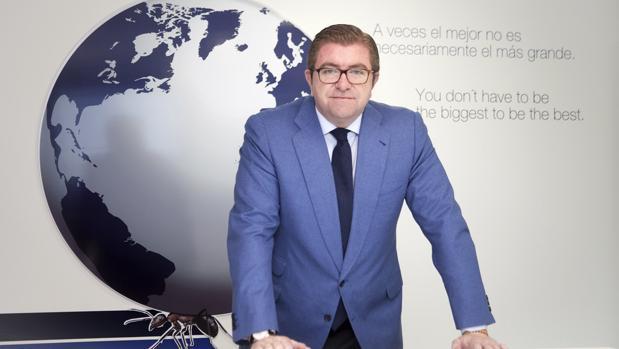 Isidoro Alanis, presidente de la empresa salmantina «Global Exchange»