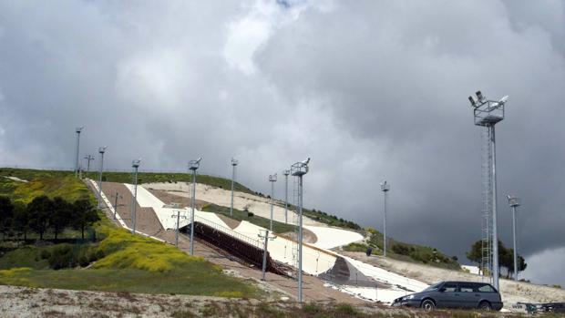 El fallido proyecto Meseta-Ski, en una imagen de archivo