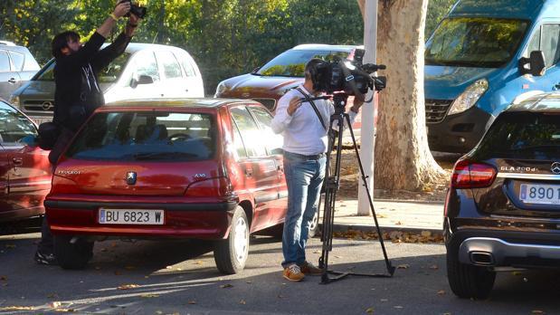 Lugar en el que se encontró el cuerpo de la mujer asesinada en Miranda de Ebro (Burgos)