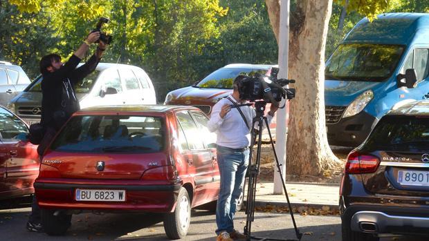 Lugar donde encontraron el cuerpo de una mujer muerta violentamente dentro de su vehículo en la calle Rio Ebro, Miranda de Ebro