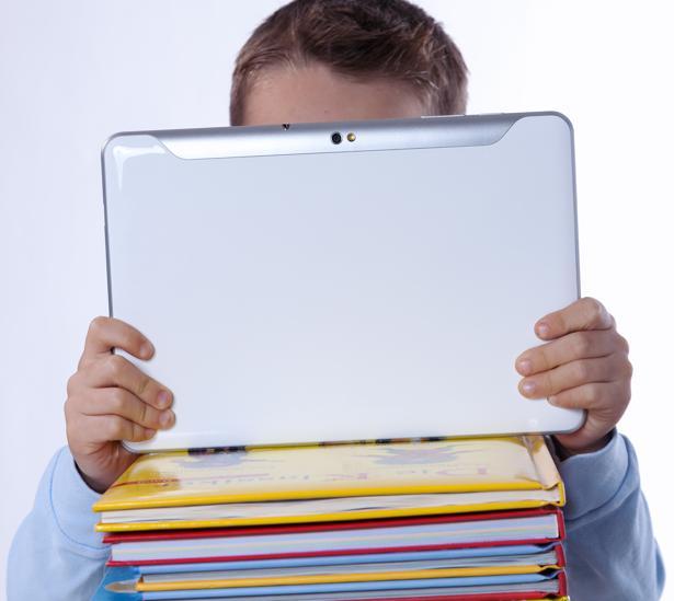 El soporte digital comienza a ser favorito entre los pequeños lectores