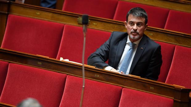 El ex primer ministro francés y miembro del parlamento Manuel Valls