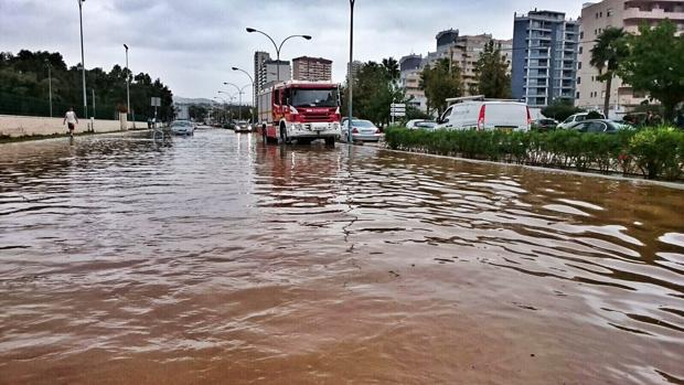 Imagen de las inundaciones