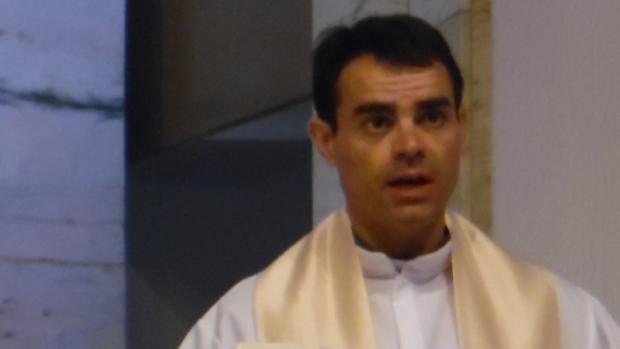 El rector del Seminario Diocesano de Valladolid, Fernando García Álvaro, en una imagen de archivo