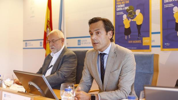 El director xeral de Saúde Pública da Consellería de Sanidade, Andrés Paz