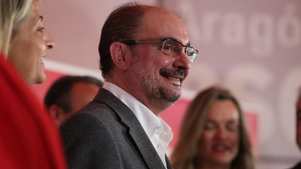 Javier Lambán, reelegido secretario general de los socialistas aragoneses