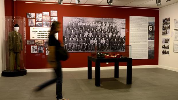 Sala de la exposición Los surcos del azar