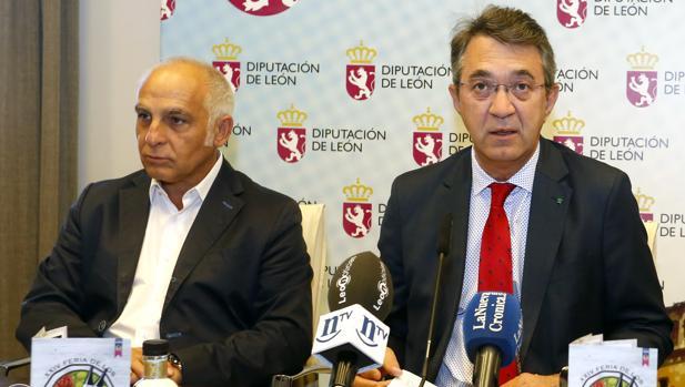El presidente de la Diputación, Juan Martínez Majo, presenta la XXIV edición de la Feria de los Productos de León