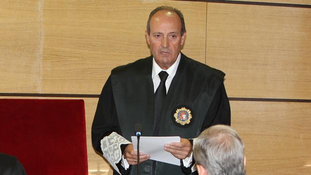 Luis Huete, en su toma de posesión como fiscal jefe de Ciudad Real