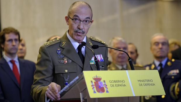 El general Fernando Alejandre, en una imagen de archivo