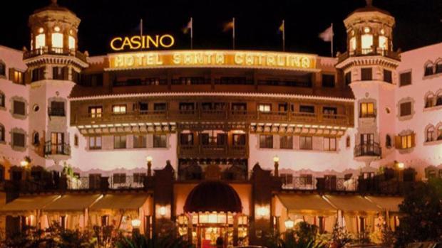Hotel Santa Catalina cuando también era casino d ela ciudad de Las Palmas
