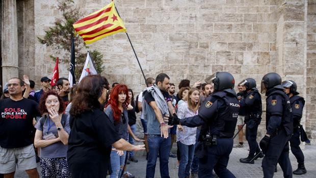 Imagen tomada este lunes en Valencia
