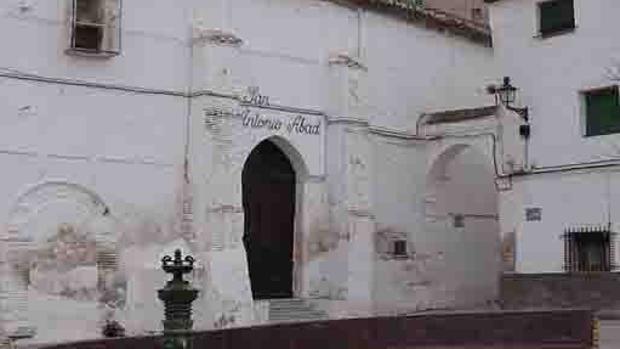 Iglesia de San Antonio Abad, antigua sinagoga de Hijar (Teruel)