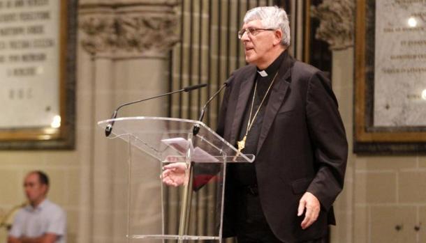 El arzobispo de Toledo, Braulio Rodríguez Plaza