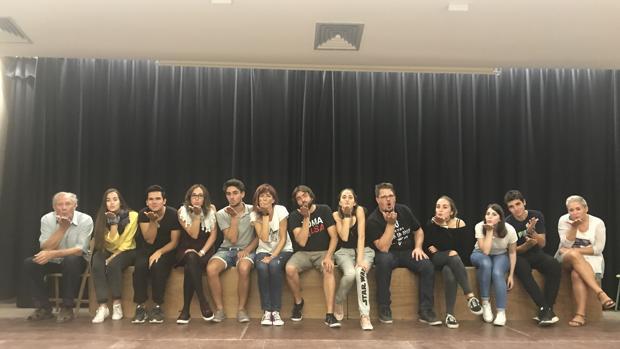 Actores de l'Escola Municipial de Teatre de Teulada