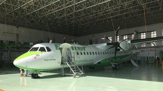 Nuero ATR 72-600 de Binter Canarias