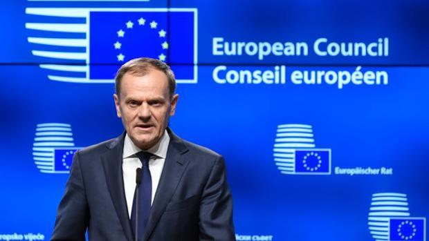 Donald Tusk, presidente del Consejo Europeo, en una imagen de archivo
