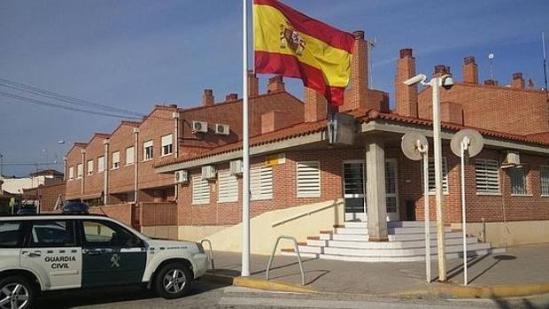 Imagen de un cuartel de la Guardia Civil en la provincia de Alicante