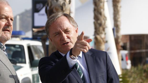 Imagen del delegado del Gobierno, Juan Carlos Moragues, tomada este martes en Alicante