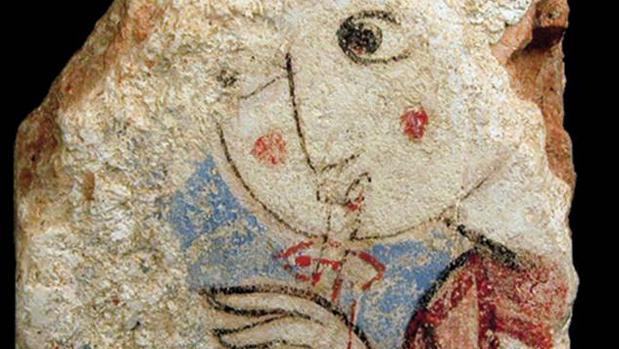 Mujer tocando el mizmar, Museo Santa Clara de Murcia