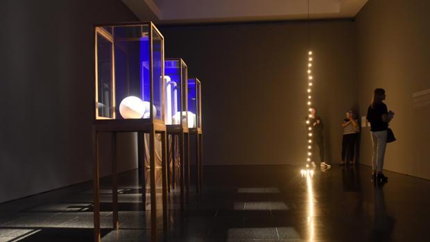 Una de las salas que pueden verse en la exposición