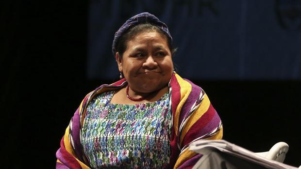 Rigoberta Menchú, en una imagen de archivo