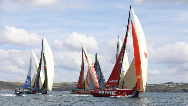 Embarcaciones participantes en la Volvo Ocean Race