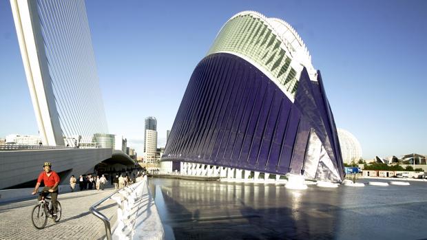 Imagen de archivo del Ágora de la Ciudad de las Artes y las Ciencias de Valencia