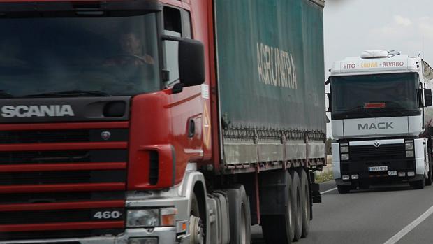 La banda se había especializado en asaltar camiones cargados de ropa