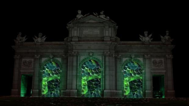 Una gran pantalla de led se ensamblará en la Puerta de Alcalá
