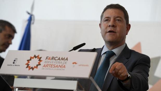 El presidente de Castilla-La Mancha, Emilaiano García-Page