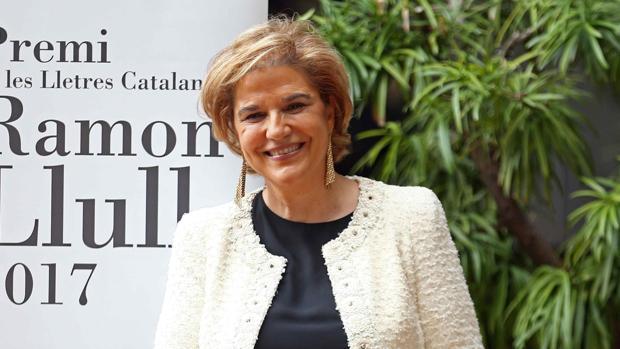 La exdiputada de ERC Pilar Rahola