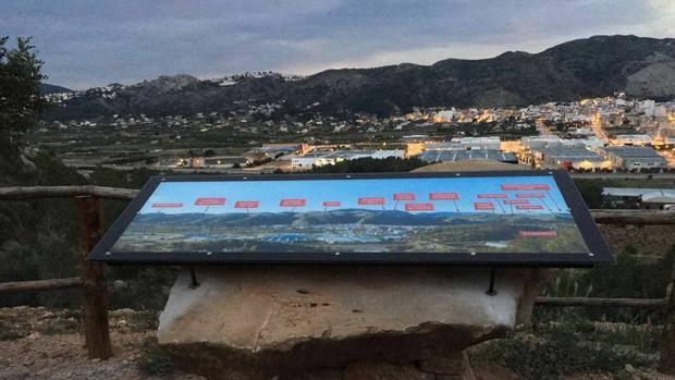 Panorámica del término municipal de Pedreguer