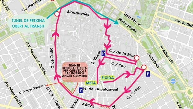 Imatge del mapa de la carrera