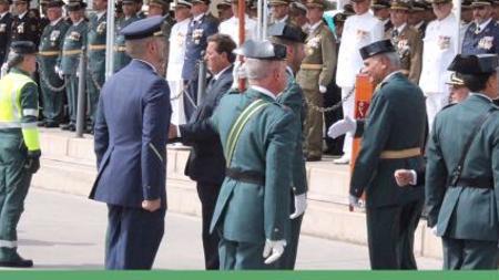 En Gran Canaria, el subdelegado del Gobierno y el coronel Arranz, jefe en Las Palmas